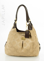 Coach 21125M Madison Maggie Mia optic Hobo Shoulder Bag handbag purse - $2.393,73 MXN