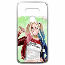 For LG V40 ThinQ / V50 ThinQ Case Cover Harley Quinn Bubble Green - $22.00