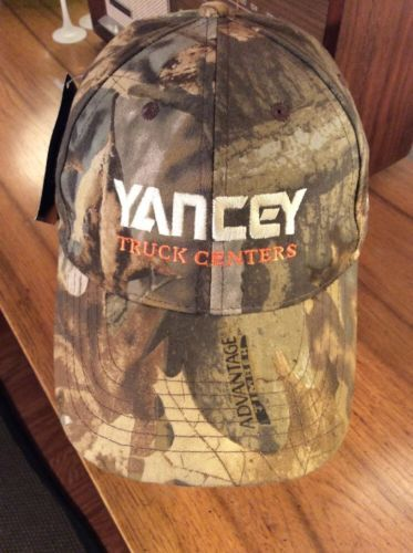 Primary image for Yancey Truck Centers International brand Baseball Hat Cap CAMO Adjustable NEW