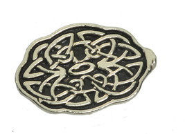 NICE Fertility Boost Luck Fetus Womb Protect baby Infinity knot Celtic Silver ch - $24.03