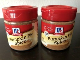 McCormick Pumpkin Pie Spice, 0.87oz (24g) Cooking Baking - Lot of 2 Exp 2020 - $9.00