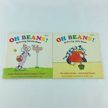 Oh Beans 2 Lot Childrens Vintage Books Vanilla Bean Jelly Bean Ellen Wei... - $11.99