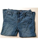 C'est Toi Women's Capri Jeans Size XL Medium Wash Denim - $1.97