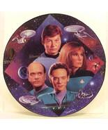 Star Trek 30 Years Doctors Tribute Ceramic Plate 1997 Hamilton COA MINT ... - $19.34