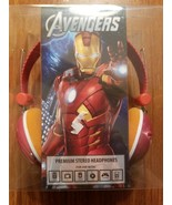 Marvel Avengers Premium Stereo  Headphones NIP - $18.17