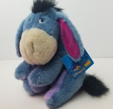 "Disneyland Paris 12"" Eeyore Plush Winnie the Pooh Stuffed Donkey Hang Tags  - $24.19"
