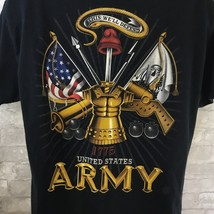 Gildan Army Crewneck T-Shirt  Men's Large Short Sleeve Graphic Shirt - $14.85