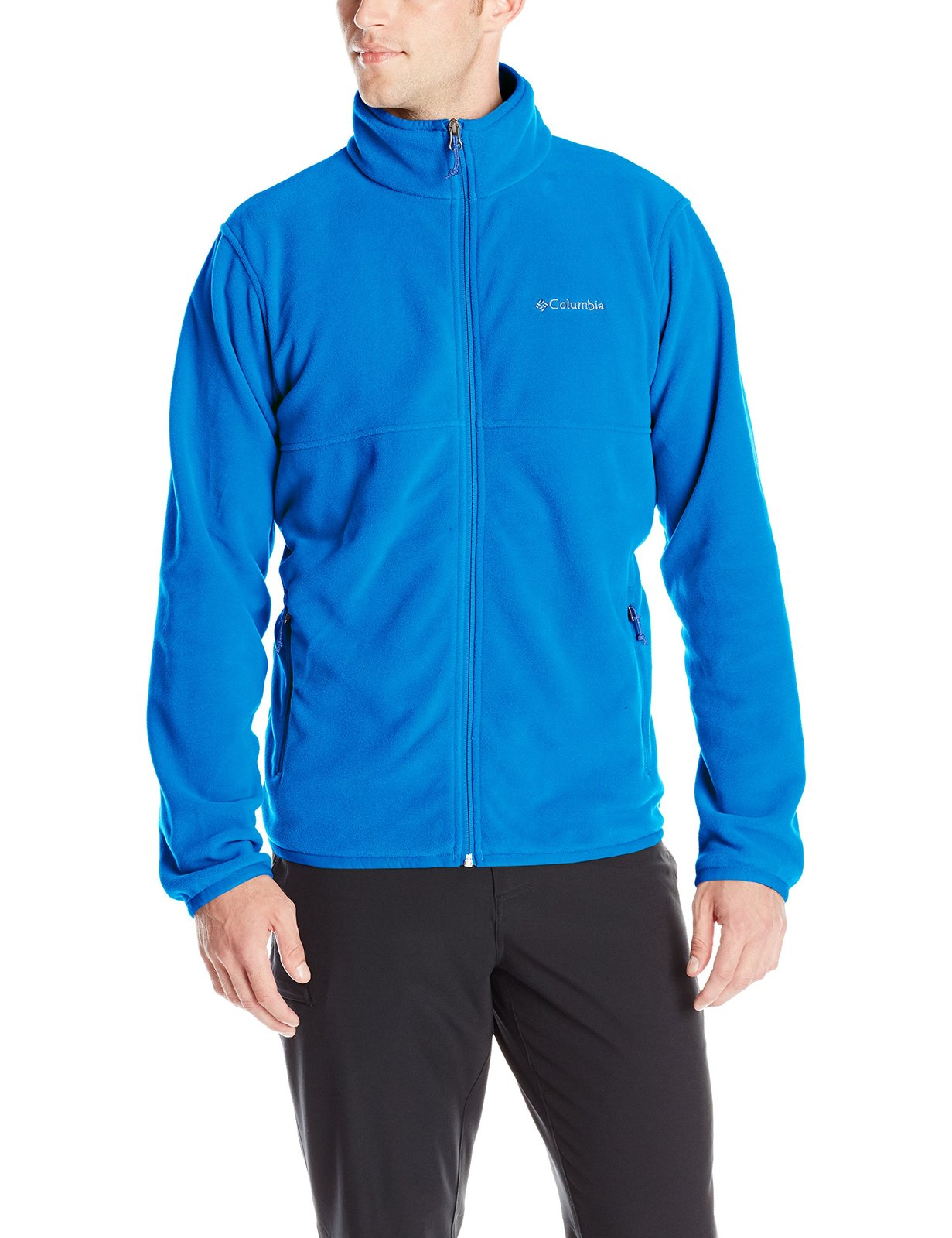 Columbia Men's Fuller Ridge Fleece Jacket, Super Blue, X-Large