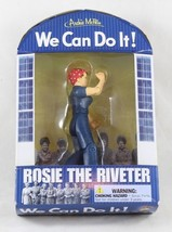 Rosie the Riveter Action Figure we Can Do It WW2 Moral Poster NIB Archie... - $14.99