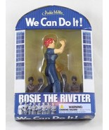 Rosie the Riveter Action Figure we Can Do It WW2 Moral Poster NIB Archie... - $12.99