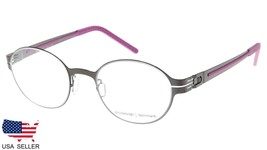 NEW PRODESIGN DENMARK 6125 c.6022 BLACK EYEGLASSES FRAME 44-20-135 B36mm... - $123.73