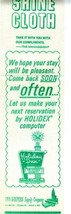 Holiday Inn Shoe Shine Cloth MINT 1950's - $15.82