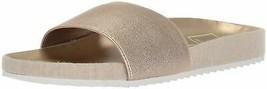 Dolce Vita Women's Sonia Slide Sandal 8.5 Copper Elastic - $34.65