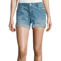 a.n.a Denim Roll Cuff Shorts Size 4, 8, 12, 14 New Msrp $44.00 Tinted Sky - $16.99