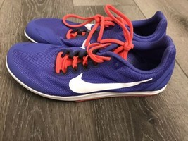 Purple Nike Racing Distance Sprinting Track & Field Multi Use Shoes 8 W/... - $20.00