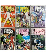 Alpha Flight Comic Lot of 6 - (1985 Marvel) #'s 25,26,27,28,29,30 Run Key - $19.79