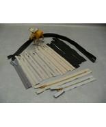 "5"" 6"" 7"" 8"" 22"" Zipper Gray Black Beige Nylon coil Brass YKK ucan mixed Lotof 14 - $35.19"