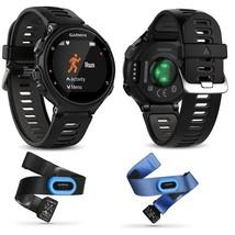 Garmin Forerunner 735XT GPS Watch Wrist Based HR Heart Rate Tri Swim Bundle - $599.90