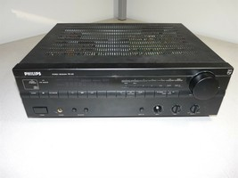 Philips FR-50 Stereo Receiver Home Theater Audio/Video Power Tested AS-IS - $34.75