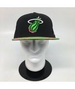 Miami Heat New Era 59Fifty Fitted 7 5/8 Green & Pink Camo HWC NBA Classi... - $27.10