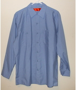 Mens NWOT Corner Stone Light Blue Long Sleeve Shirt Size Large - $19.95