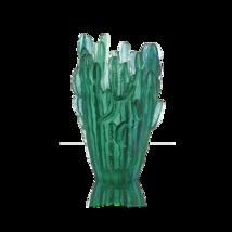 DAUM Crystal Large Jardin de Cactus Green Vase by Emilio Robba 05673 France New  - $7,227.00
