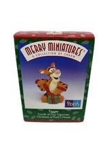 Hallmark Merry Miniatures Tigger No. 4 Christmas at Pooh's House 1999 Figurine - $9.64