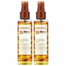 MIZANI 25 Miracle Nourishing Hair Oil, 4.2 fl. oz. [Pack of 2] - $26.99