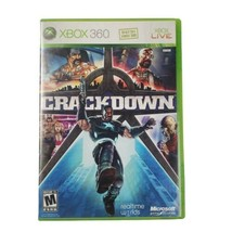 Microsoft Xbox 360 Crackdown Video Game (Complete, 2007) - $14.46