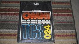 1980 Plymouth Horizon Servizio Riparazione Negozio Manuale OEM - $8.17
