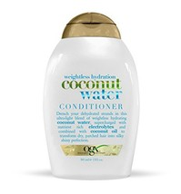 OGX Weightless Hydration + Coconut Water Conditioner, 13 Ounce Pack of 6