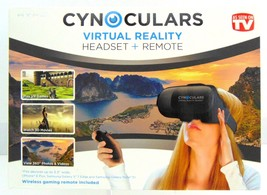 Cynoculars 3D Movie Virtual Reality Headset Wireless Gaming Remote W/Joy... - €18,57 EUR