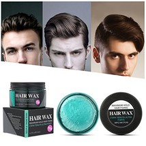 Strong Hold Hair Wax, LuckyFine Hair Styling Clay, Hair Styling Pomade f... - $13.19