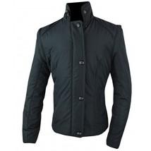 KAKI Child Youth Puffer Jacket Black size 4 - zip off sleeves! image 2