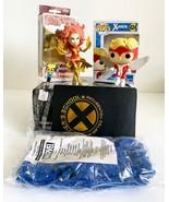 X-Men Box Set, Angel, Dark Phoenix, Xavier Logo Notebook, Wolverine Pen ... - $34.64