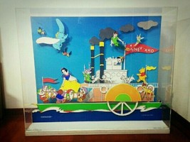 Super rare! Disney x ONWARD Wall clock Moving picture Glockenspiel Wall ... - $371.25