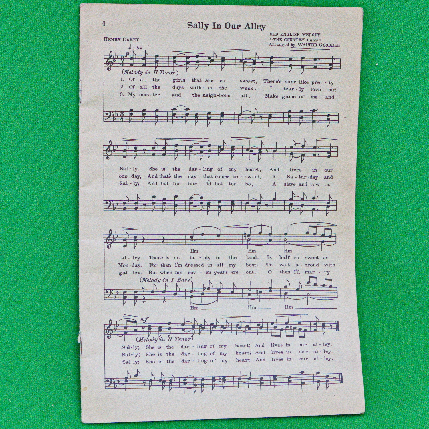 Small Vintage 28-page Sheet Music Song Book - Covers Missing