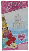 Disney Princesses Valentines 34 Cards with Tattoos Deluxe - Ariel Rapunz... - $5.32