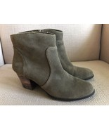 Sole Society So Romy Gray Suede Ankle Boots size 7.5 - $28.04