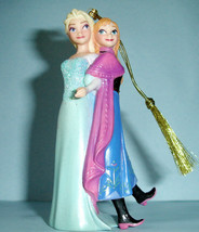 Lenox Disney Showcase Frozen Elsa & Anna Christmas Ornament New In Box - $82.90
