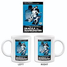 Dracula vs Frankenstein - 1971 - Movie Poster Mug - $23.99+