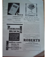 Vintage Roberts Numbering Machine & Other Small Print Magazine Advertise... - $12.99