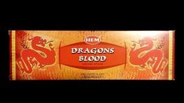 DRAGONS BLOOD 25 Boxes of 8 = 200 HEM Incense Sticks Bulk Case Retail Di... - $20.00