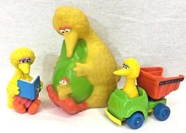 Sesame Street Big Bird Vintage Applause Figure Squeak Toy Playskool Truc... - $24.95