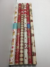 Wrapping Paper Rolls Lot 6 Valentine's Sweetest Day Love Victorian Heart... - $39.99