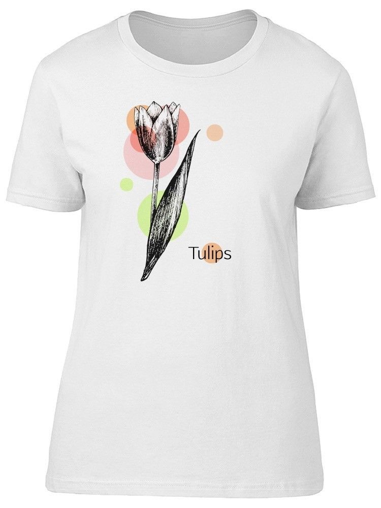 Primary image for Tulips, Cute Tulip Flower Sketch Women's Tee -Image by Shutterstock