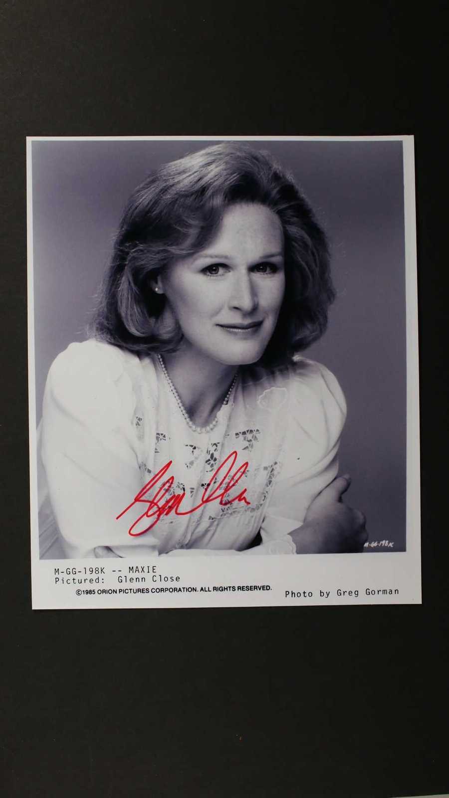 Primary image for Glenn Close Signed Autographed Glossy 8x10 Photo