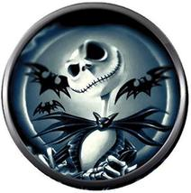 Bats W/ Nightmare Before Christmas Jack Skellington 18MM-20MM Snap Jewelry Charm - $5.95