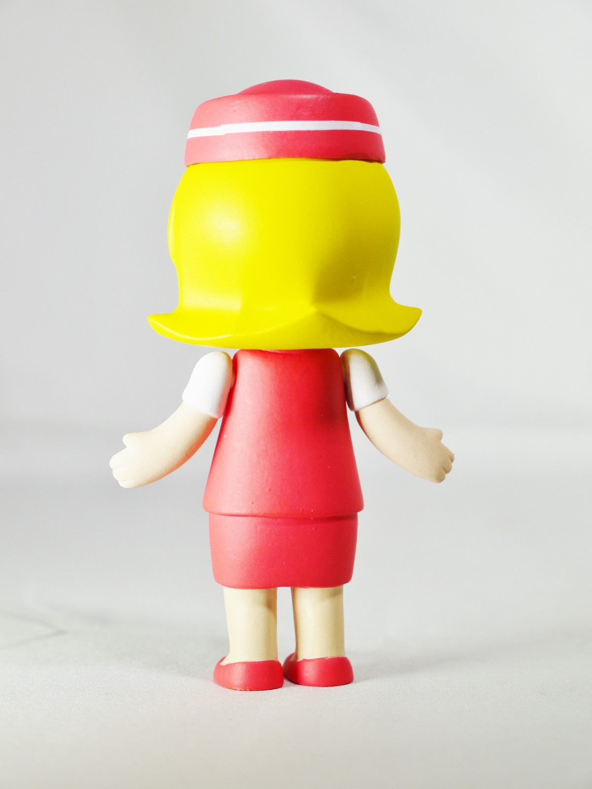 Hong Kong POP MART Kennyswork BLOCK Little Molly Career Series Stewardess Red