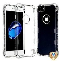 For APPLE iPhone 8/7 Silver Plating TUFF Klarity Lux Candy Skin Cover Case - $11.07